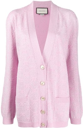Gucci GG sparkling-effect cardigan