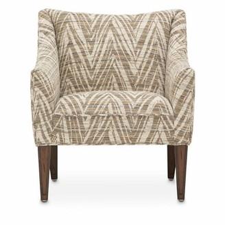 Michael Amini Nikki Club Chair