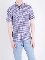 Burberry Gingham-print regular-fit cotton shirt