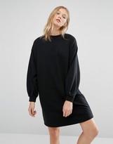 NATIVE YOUTH Minimal Cocoon Sweat Dress