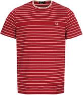 Fred Perry Pique T-Shirt M2534 D75 Claret