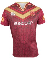 Canterbury of New Zealand QLD Maroons State of Origin 2017 Men's Training Jersey