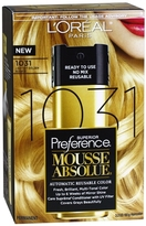 L'Oreal Superior Preference Mousse Absolue Automatic Reusable Color 1031 Lightest Golden Blonde