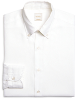 Brooks Brothers Solid White Luxury Dress Shirt