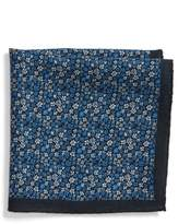 Bonobos Men's Floral Wool Pocket Square