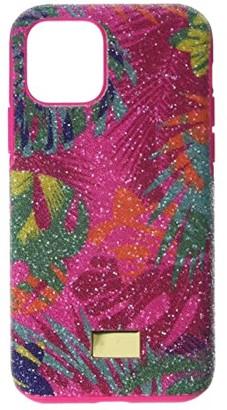 Swarovski Tropical Smartphone Case with Bumper, iPhone(r) 11 Pro (Multicolor) Cell Phone Case