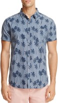 Superdry Chambray Palm Tree Regular Fit Button-Down Shirt