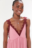 Urban Outfitters Lucy Lace Babydoll Tank Top