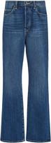 Eve Denim Juliette Rigid Mid-Rise Wide-Leg Jeans
