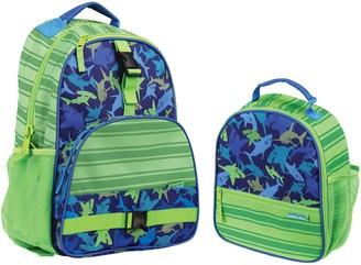 Stephen Joseph Shark Backpack & Lunchbox