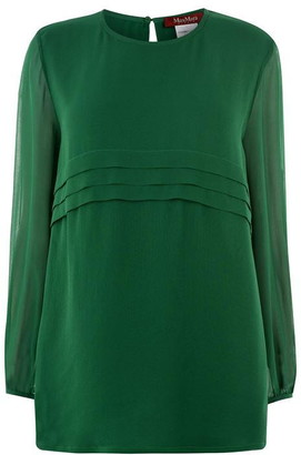 Max Mara Usuale Long Sleeve Blouse
