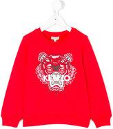 Kenzo Tiger sweatshirt - kids - Cotton - 8 yrs