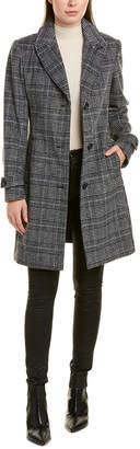 Vince Camuto Wool-Blend Coat