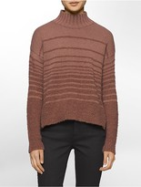Calvin Klein Boucle Mock Neck Sweater