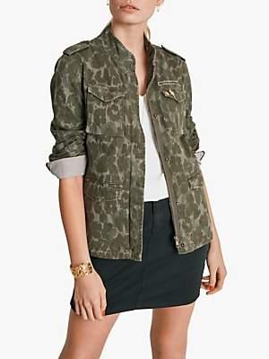 1c48ad33 Camo Military Jacket - ShopStyle UK