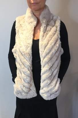 Jayley Faux-Fur Suede Vest