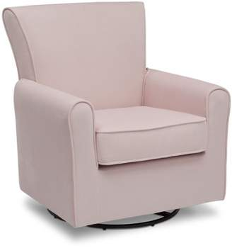 Delta Children Elena Glider Swivel Rocker Chair, Blush Velvet - Walmart.com
