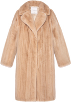 Pologeorgis The Letter Camel Fur Coat