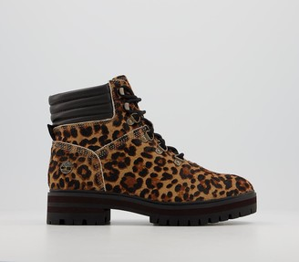 Timberland London Square Mid Hiker Boots Leopared