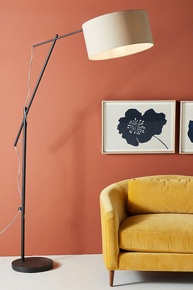 Anthropologie Broome Floor Lamp By in Black Size ALL
