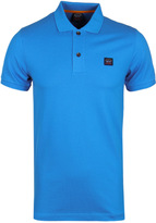 Paul & Shark Sky Blue Pique Short Sleeve Polo Shirt