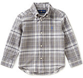 Ralph Lauren Little Boys 2T-7 Plaid Long-Sleeve Woven Shirt