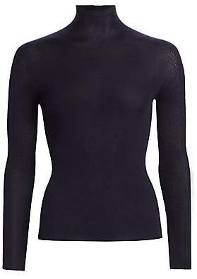 Akris Women's Seamless Cashmere & Silk Turtleneck Sweater
