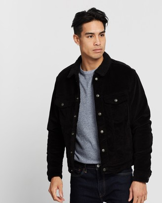 Jack and Jones Alvin Sherpa Corduroy Jacket