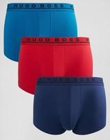 HUGO BOSS BOSS By Trunks In 3 Pack Multi
