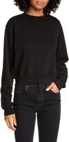 Cotton Citizen Milan Tie Dye Crop Sweatshirt