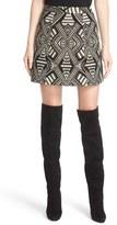 Alice + Olivia 'Loran' Structured Lantern Skirt