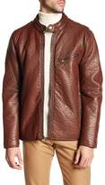 Andrew Marc Dinsmore Faux Leather Jacket