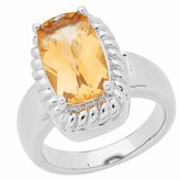 Amoro 925 Sterling Silver and Citrine Ring (3.80 cttw)