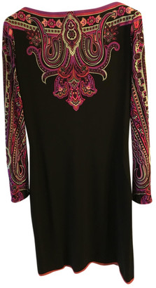 Leonard Black Viscose Dresses