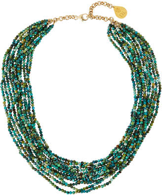 Devon Leigh Turquoise Multi-Strand Necklace