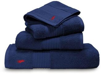 Ralph Lauren Home Player marine hand towel