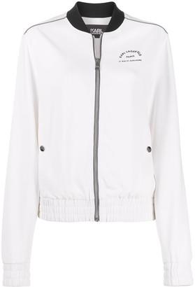 Karl Lagerfeld Paris Rue St-Guillaume bomber jacket