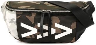 Ports V Camouflage Print Belt Bag