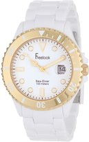 Freelook Men's HA1437G-9 Sea Diver Dial Gold Bezel Watch