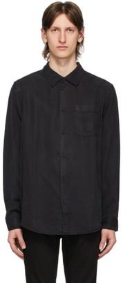 Nudie Jeans Black Chuck Smooth Shirt
