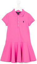 Polo Ralph Lauren logo patch dress