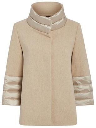 Cinzia Rocca Wool Down-Insert Coat