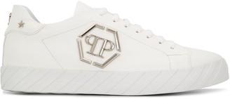 Philipp Plein Logo Plaque Detailed Sneakers