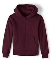 Lands' End Boys Hoodie Pullover Sweatshirt-Red