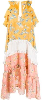 Three floor Flower Child dress