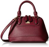MG Collection Small Structured Convertible Satchel Cross-Body Bag