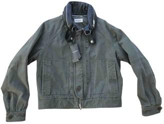 Saint Laurent Khaki Denim - Jeans Jackets