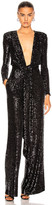 Dundas Long Sleeve Jumpsuit in Black | FWRD