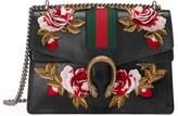 Gucci Dionysus embroidered leather shoulder bag