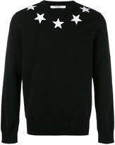 Givenchy star appliqué sweatshirt - men - Cotton/Polyester - XL